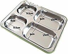 HoEOQeT Lunch-Box, Service-Platte, aus 304
