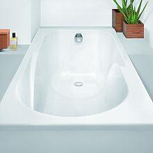 Hoesch Regatta Rechteck-Badewanne mit Duschzone