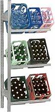 Hofe PROFI Getränkekistenregal -Anbauregal- für