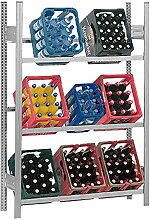 Hofe PROFI Getränkekistenregal für 9 Kisten,