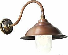 Hoflampe 'Savoye' Bronze und Kupfer