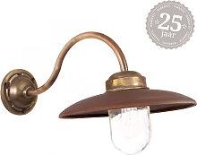 Hoflampe Landes Bronze/Kupfer