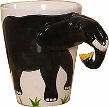Hoga Max Porzellan Tasse Kaffeebecher 3D