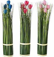 Hogar y Mas Pflanze tulipan 3 Farben Polyester -