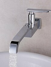 hohe Qualit?t 360 Dreh Einrohr-K¨¹chenarmatur Wasserhahn Chrom Waschbecken Wasserhahn einzigen Handgriff kalten Wasserhahn