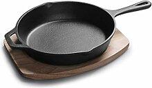 Hohe Qualität Cast Iron Pan Bratpfanne Mehrzweck