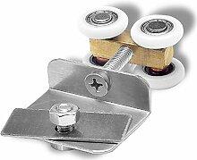 Hohe Qualität zum Aufhängen Glas Tür Roller Rad Bad Dusche Schiebetür Bearing Schiebetür Pulley