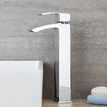 Hoher Einhebel Wasserhahn für Aufsatzwaschbecken