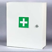 hoher Qualität zwei Regalen Schrank weisse für Erste Hilfe