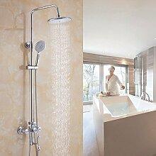 Hoher Standard Dusche voll Kupfer Abfluss der