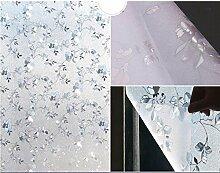 HOHO 23,6IN. Von 39,3in. 3D Statische Fensterfolie ohne Klebstoff Fenster Solar Tint Sichtschutzfolie für Fenster