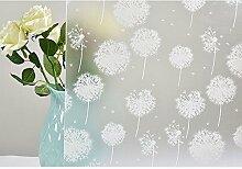 HOHO Löwenzahn Blume Design selbstklebend Fenster