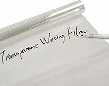 HOHO selbstklebend transparent Schreibtafel