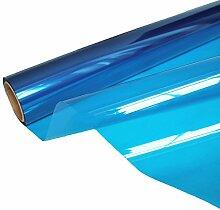 HOHO transparent blau Fenster Film Glas Aufkleber