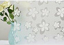HOHO weiß Flower Painting Sichtschutz