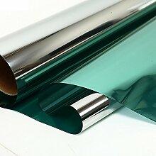HOHOHO One Way Reflektierendes Rot Silber Spiegel