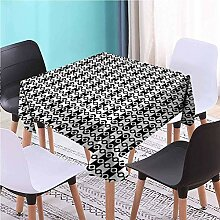Hohun Abstrakte quadratische Tischdecke Gedruckte