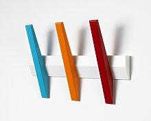 Hoigaard  Garderobenleiste mit 3 Haken Tangent 3 -