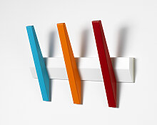 Hoigaard  Garderobenleiste mit 3 Haken Tangent 3