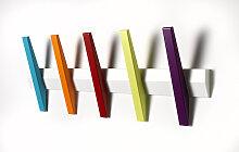 Hoigaard Garderobenleiste TANGENT 5 mit 5 Haken -
