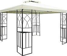 HoitoDeals Metall-Pavillon für Gartenpavillon,