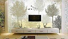Hojuan 3D Wandbild Wallpaper Benutzerdefinierte