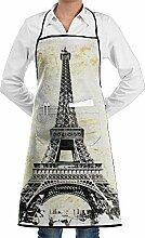 Hoklcvd Grill Aprons Kitchen Chef Bib France Flag