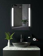 HOKO® Badspiegel LED beleuchtet mit integrierter