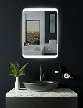 HOKO® LED Badspiegel mit ANTIBESCHLAG