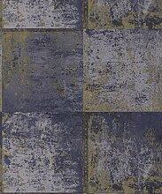 Holden Decor 65162Metall Panel Tapete, blau