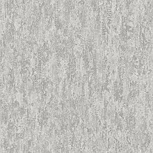 Holden Decor Distressed Metallic Grey 91210 Tapete