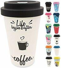 holi. Coffee-to-Go Bambus-Becher mit