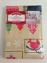 Holiday Time Urlaub Zeit Vinyl Tischdecke 132,1x