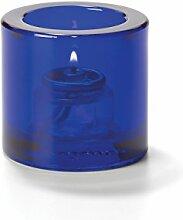 Hollowick Home Teelichthalter, kobaltblau, dickes,
