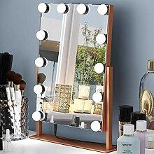 Hollywood beleuchteter Kosmetikspiegel mit