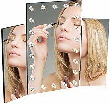 Hollywood-Kosmetikspiegel mit Lichtern,