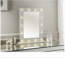 Hollywood LED Schminktisch Frisiertisch Spiegel