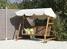 Hollywood-Schaukel / Gartenschaukel 3-Sitzer mit