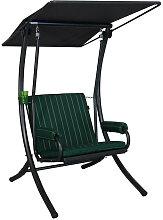 Hollywoodschaukel 1-Sitzer Royal Faro grün