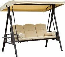 ® Hollywoodschaukel 3-Sitzer Gartenschaukel mit