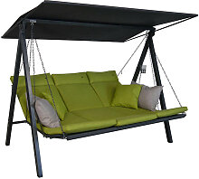 Hollywoodschaukel Lounge Smart lime