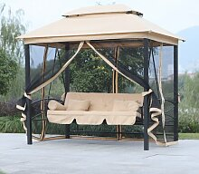 Hollywoodschaukel Pearl mit Gestell Garten Living