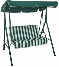 Hollywoodschaukel Relax 140 x 110 x 153 cm Farbe: