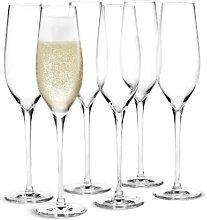 Holmegaard Cabernet Champagnerglas 29 cl 6 Stk.