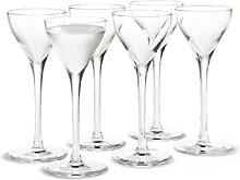 Holmegaard CABERNET Schnapsglas -  6 Gläser im