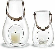 Holmegaard - Design with light Laterne (2er-Set) H