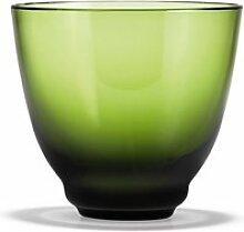 Holmegaard - Flow Wasserglas 35 cl, grün