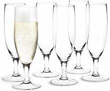 Holmegaard - Royal Champagnerglas, 25 cl (6er-Set)