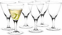 Holmegaard - Royal Cocktailglas 20 cl (6er-Set)
