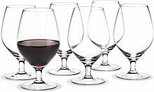 Holmegaard - Royal Rotweinglas, 39 cl (6er-Set)